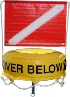 Inflatable Dive Flag and Float Deluxe 4652 Brownies Third Lung Dealer