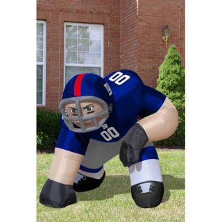 York Giants NFL 5 Inflatable Bubba Player Blow Up Lawn Figure