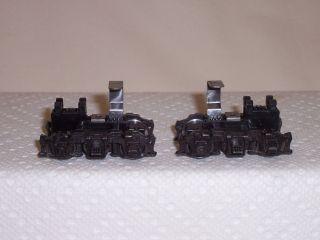 Blue Box Locomotive Parts Metal Sideframe Blomberg Power Trucks