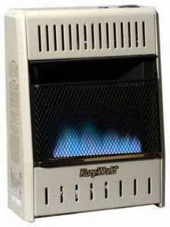 BTU Blue Flame Dual Fuel Vent Free Gas Wall Heater 013204201098