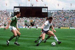 IRELAND  ENGLAND 10 Euro 1988 ,entire match on DVD ,english