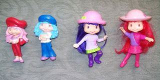 Strawberry Shortcake, Blueberry Pie, Small Purple Doll, Figurine Play