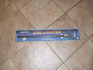 Blue Flame Natural Gas Fireplace Log Lighter New 16 inch with