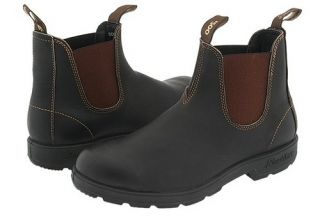 Blundstone BL500 500 Mens Stout Brown Leather Ankle Boots Australian