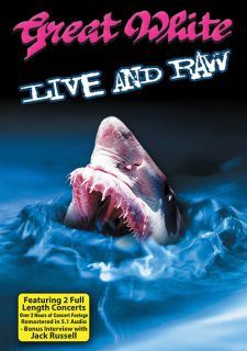 White Live & Raw Concert Performance Blues Rock Music Video DVD CD NEW