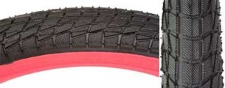 New Kenda Kontact BMX Bike Tire 20 x 1 95 Black Red