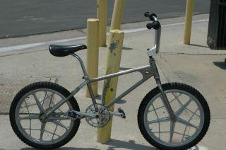 bmx bicycle bike team mongoose frame motomag II rims gt sugino parts