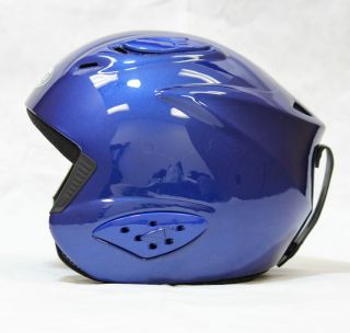 New Allpro Ski Snowboard Winter Sports Helmet Blue s M L 53cm 55cm
