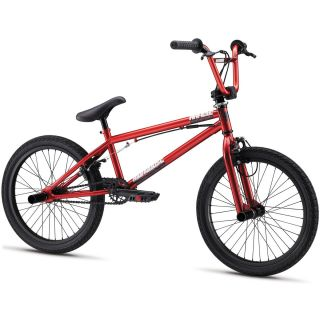 Mens Bicycle Mongoose Article BMX Park Bike with Pegs 20 x 2 0 Red