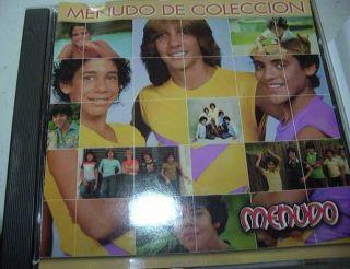Menudo de Coleccion CD BMG Latin I SHIP Worldwide Ricky Martin