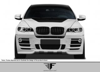 2008 2011 BMW x6 E71 Aero Function AF 2 Front Bumper Cover