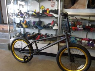 Eastern Bikes Reaper Matte Black Gold 2012 BMX Bike