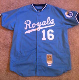 Bo Jackson Kansas City Royals Jersey Mitchell Ness