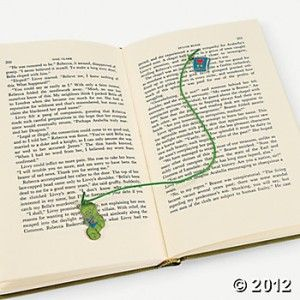 Love to Read Bookmark Kit Gift Teacher Appreciation Bookworm Charm