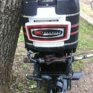 Mercury 400 Outboard Boat Motor 40 HP Electric Start