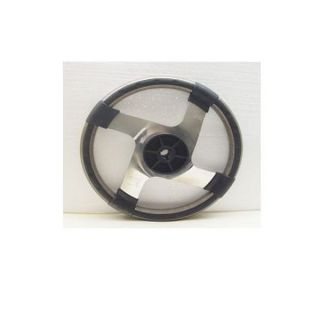 Premier Brushed Boat Steering Wheel w Hub