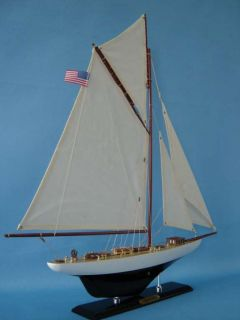 volunteer 25 limited model yacht model boat new
