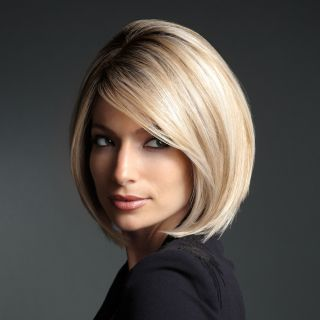 Gorgeous Locks Collection Beautiful Bob Wig Classic Blonde New