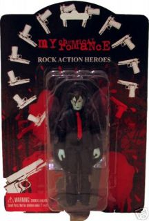 my chemical romance zombie figure set of 5