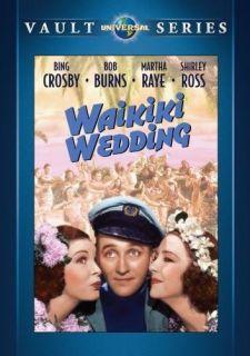 Waikiki Wedding DVD Bing Crosby Bob Burns Martha Raye