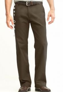 Banana Republic Mens Bootcut Chino Dark Brown Pants New Free Fast