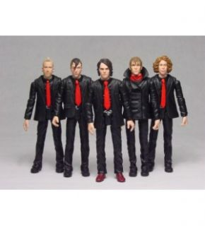 My Chemical Romance Action Figure Set of 5 w Gerard Way