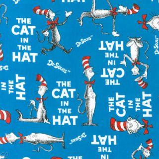 Robert Kaufman Dr Seuss The Cat in The Hat Blue Words