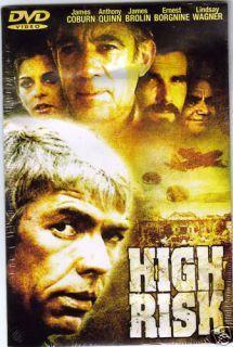 High Risk Ernest Borgnine and James Coburn DVD Movie 787364446896