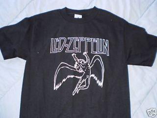 LED Zeppelin T Shirt Sz XL Plant Bonham Page Rock Punk
