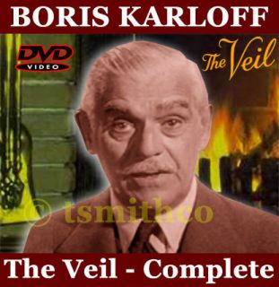 The Veil Complete TV Series DVD Boris Karloff Bonus