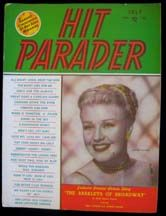 Lot 3 Hit Parader Collector Music Magazine Rita Hayworth Ginger Rogers