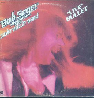 Bob Seger Live Bullet 2LP VG NM Canada Capitol SKBB 11523 Gatefold