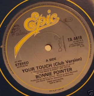 Bonnie Pointer Your Touch 12 Single