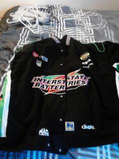 Bobby Labonte Interstate Batteries twill Jacket 3xl 3x xxxl 18