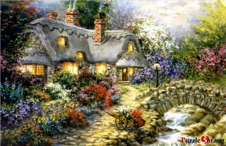 Jigsaw Puzzles 1000 Pieces Warm country road / Nicky Boehme