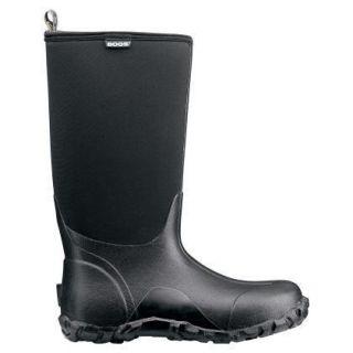 Bogs Classic High Waterproof Mens Rain Snow Boots Black 60142 All