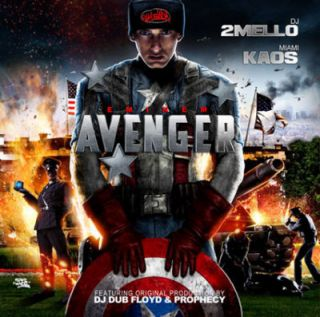 Eminem Avenger Blends Remixes Official Mixtape Album CD