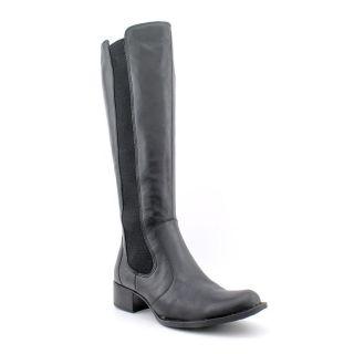 Born Valentina Womens Size 7 5 Black Leather Fashion Knee High Boots