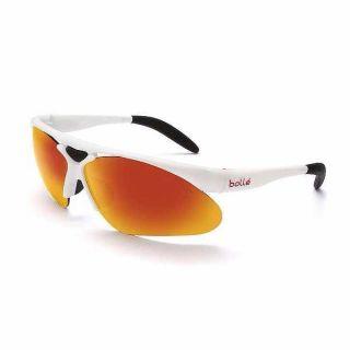Bolle Performance Sunglasses Parole Shiny White TNS Fire 11442