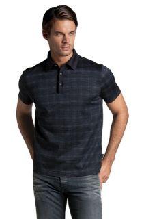 Hugo Boss Black Geometric Amalfi 08 Polo Shirt $75 M L XXL
