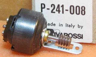 BOWKER MOTOR W BRACKET AND WORM GEAR AHM RIVAROSSI PART P 241