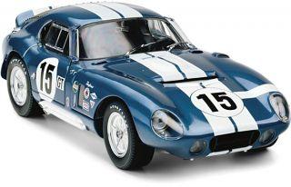 Exoto 1/18 Bob Bondurant/Jo Schlesser #15 1965 Cobra Daytona Coupe