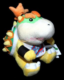 Mario Brothers Bros 6 Bowser Jr Junior Soft Toy Plush Doll