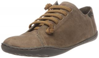 Camper Peu Cami 20848 Womens Dark Olive Leather New Lo Top Trainers