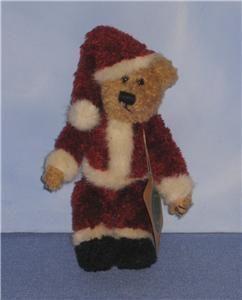 Collectible Boyds Bear Santa Claus Cute