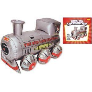 New Ride on Locomotive Bounce Inflatable Train Kids Child Toy Play