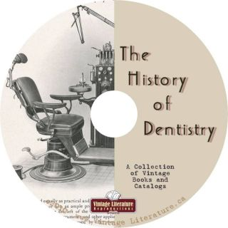 History of Dentistry 28 Dental Books on DVD by Vintage Literature