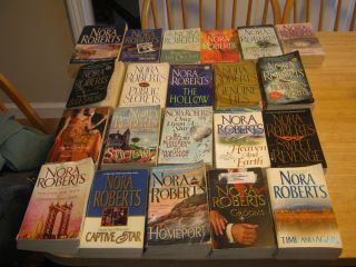 26 Great Romance Paperback Books by Nora Roberts Containing 33 Novels