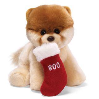 GUND BOO the worlds cutest dog   Christmas Stocking #4030387