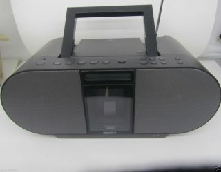Sony Boombox with CD Player, AM/FM Radio & iPod/iPhone Dock +Remote